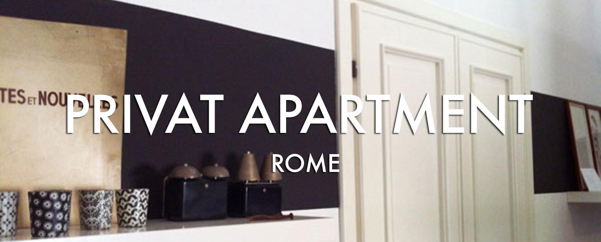 TESTATA PRIVAT INTERIOR ROME