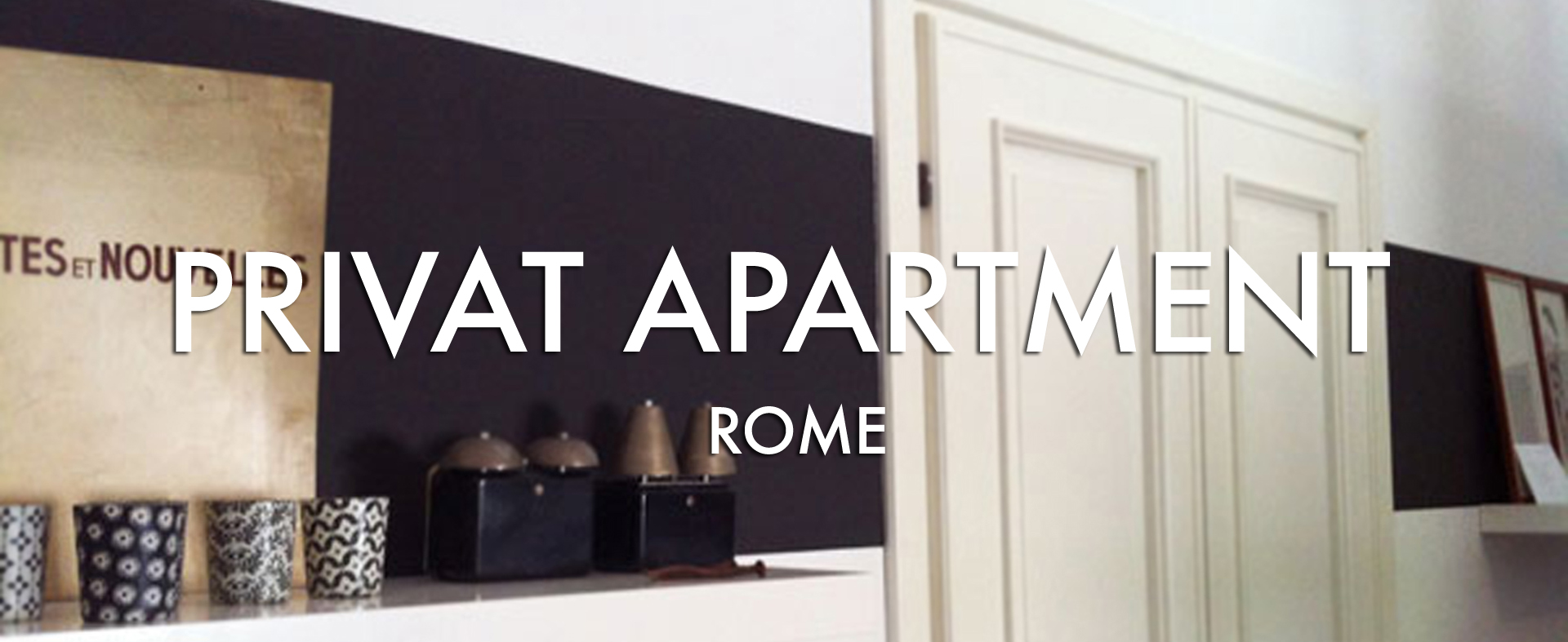 Private apartment ROME