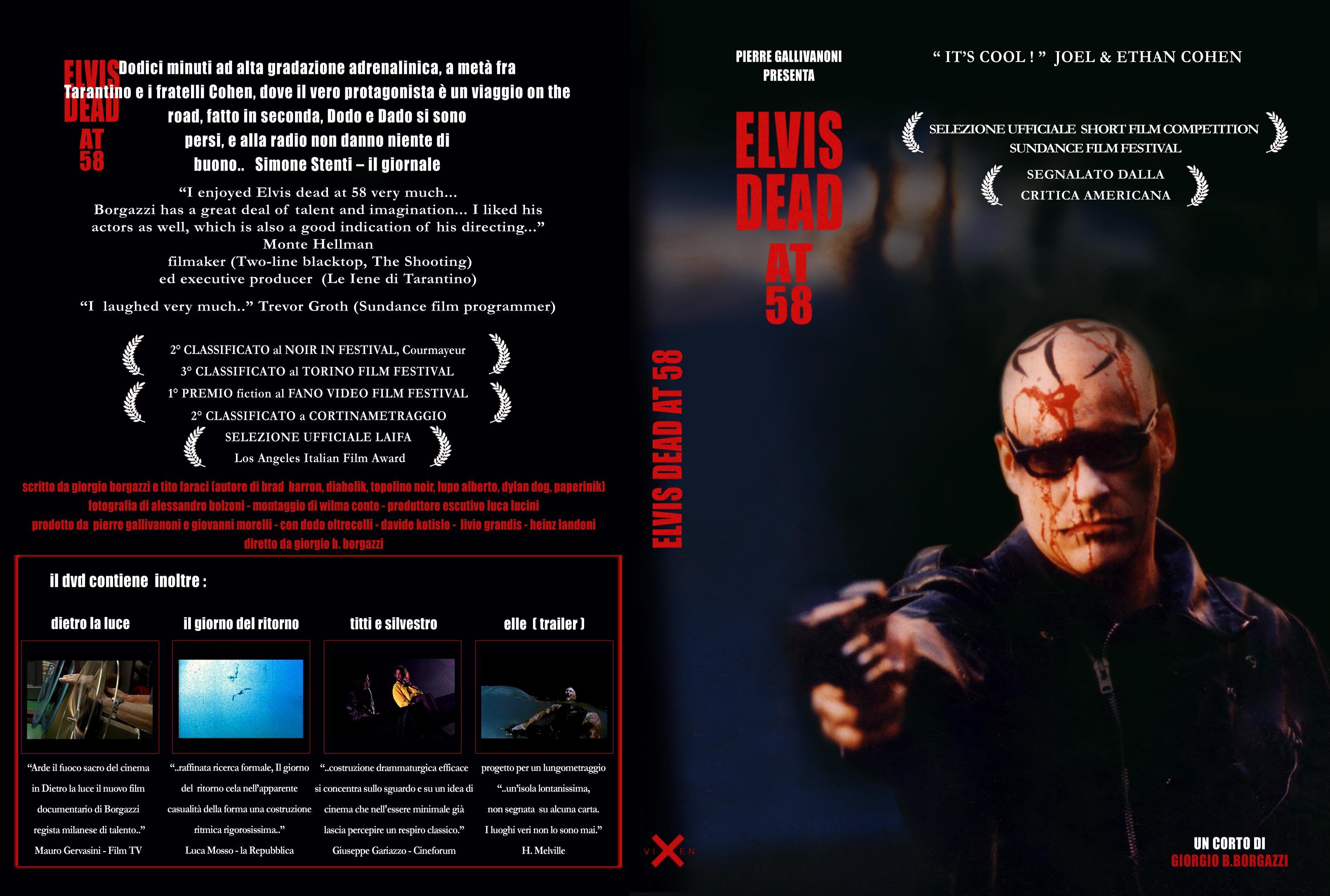 poster for shortfilm ELVIS DAED AT 58 - SUNDANCE FILM FESTIVAL 1998