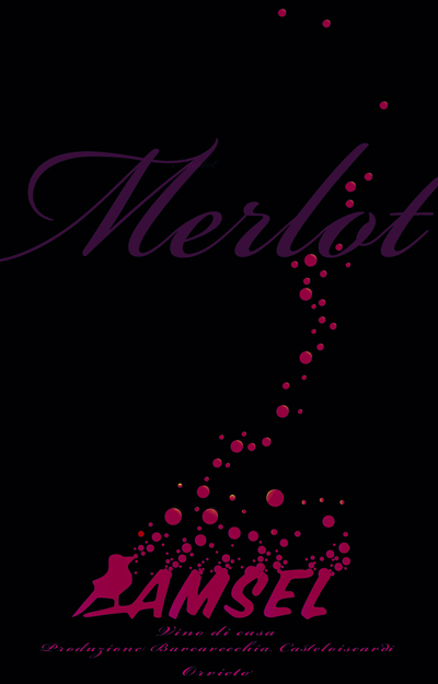 Amsel -wine label