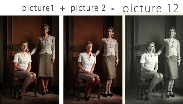 digital photo-retouching for the movie IL SANGUE DEI VINTI 2_2007